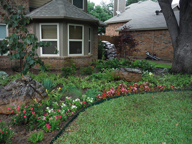 Landscaping design and installation fort worth dallas for Landscaping services